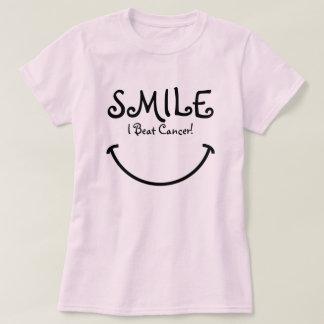 Sonrisa, batí al cáncer playera
