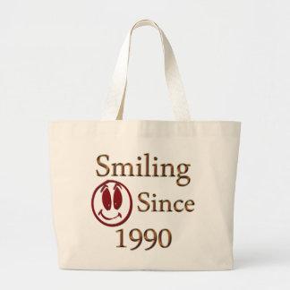 Sonrisa Bolsa Tela Grande