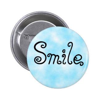 Sonrisa-botón Pin