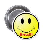 ¡Sonrisa!!! Botón Pins
