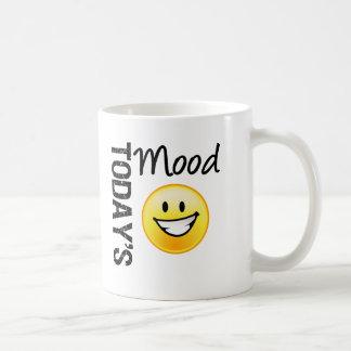 Sonrisa brillante del Emoticon de hoy del humor Taza