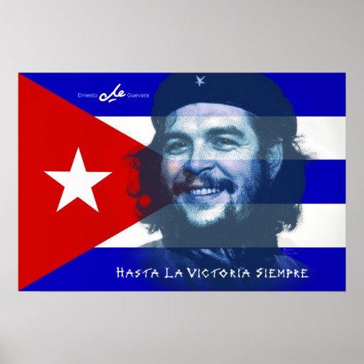 Sonrisa de Che Guevara Póster