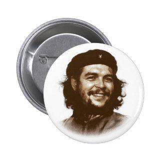 Sonrisa de Ernesto Che Guevara Pin Redondo De 2 Pulgadas