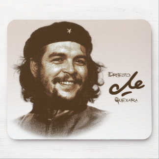 Sonrisa de Ernesto Che Guevara Mouse Pad