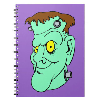 Sonrisa de Frankenstein Spiral Notebooks