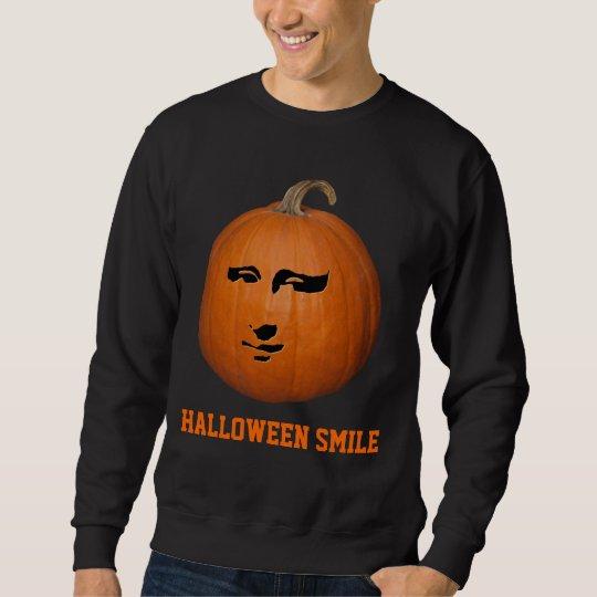 Sonrisa de Halloween Sudadera