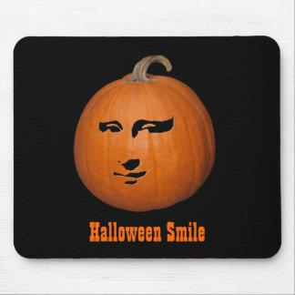 Sonrisa de Halloween Tapetes De Ratón