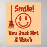 Sonrisa de la bruja impresiones