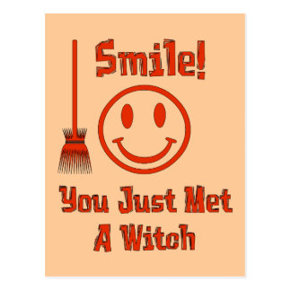 Sonrisa de la bruja postal
