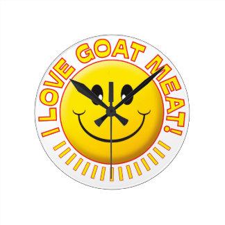 Sonrisa de la carne de cabra relojes
