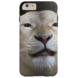 Sonrisa de la leona funda de iPhone 6 plus tough
