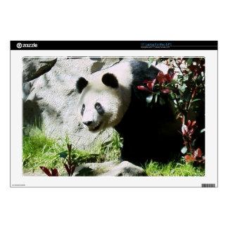 Sonrisa de la panda calcomanías para 43,2cm portátiles
