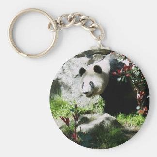 Sonrisa de la panda llavero