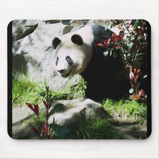 Sonrisa de la panda tapetes de ratones