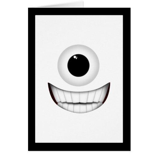Sonrisa de los Cyclops Tarjeta De Felicitación