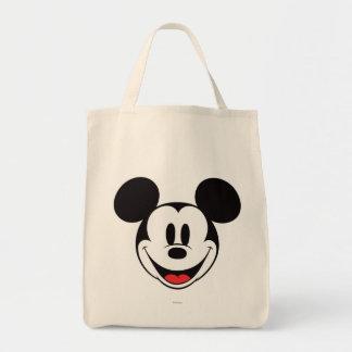 Sonrisa de Mickey Mouse Bolsa Tela Para La Compra