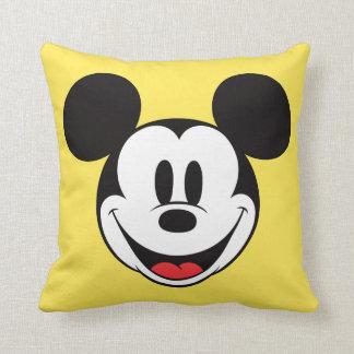 Sonrisa de Mickey Mouse Cojín