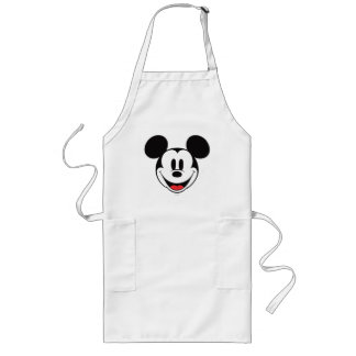 Sonrisa de Mickey Mouse Delantal Largo