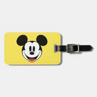 Sonrisa de Mickey Mouse Etiquetas Bolsas