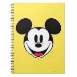 Sonrisa de Mickey Mouse Libreta Espiral