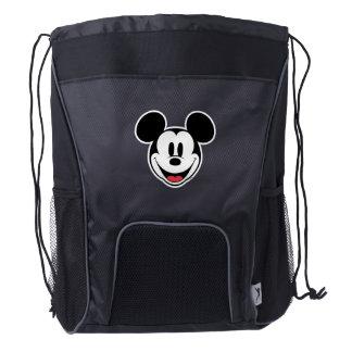 Sonrisa de Mickey Mouse Mochila De Cordón