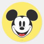 Sonrisa de Mickey Mouse Pegatina