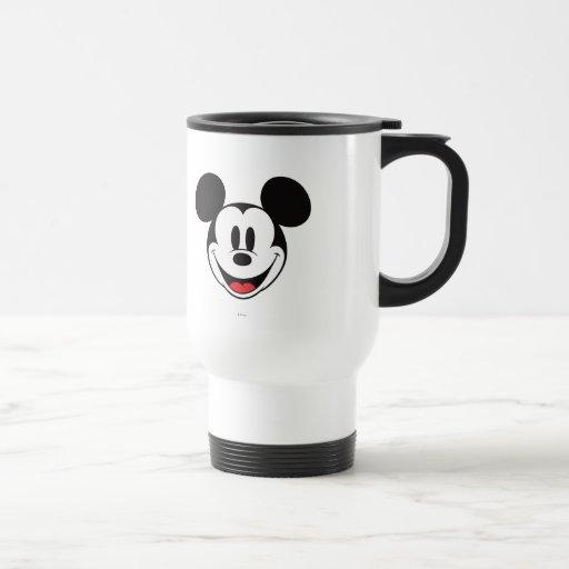 Sonrisa de Mickey Mouse Tazas