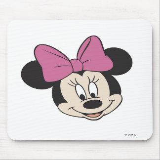 Sonrisa de Minnie Mouse Tapetes De Ratón