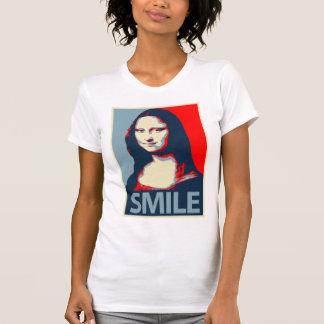 Sonrisa de Mona Lisa Playera