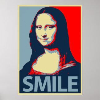 Sonrisa de Mona Lisa Póster