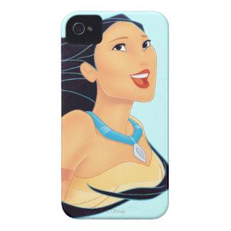 Sonrisa de Pocahontas iPhone 4 Case-Mate Cárcasas