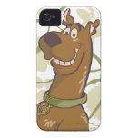 Sonrisa de Scooby Doo iPhone 4 Case-Mate Cárcasa