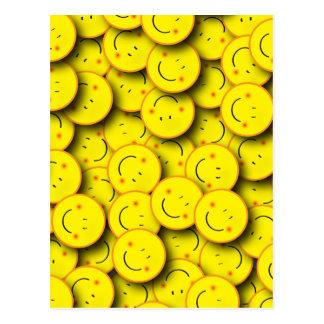 Sonrisa de sonrisas postales