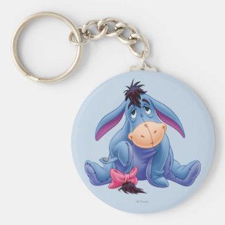 Sonrisa de Winnie the Pooh el | Eeyore Llavero Redondo Tipo Pin