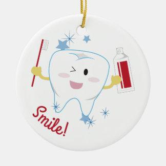¡Sonrisa! Ornamento Para Arbol De Navidad