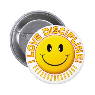Sonrisa del amor de la disciplina pin
