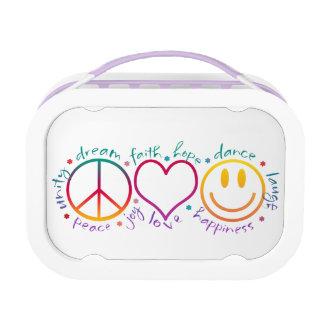 Sonrisa del amor de la paz