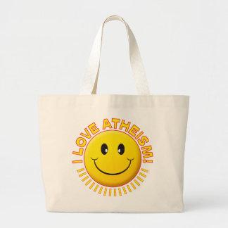 Sonrisa del amor del ateísmo bolsa