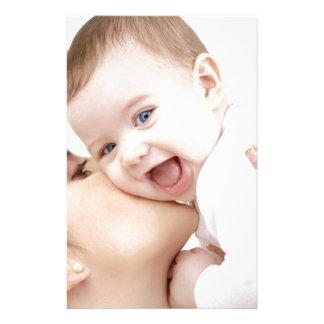 sonrisa del bebé papeleria personalizada