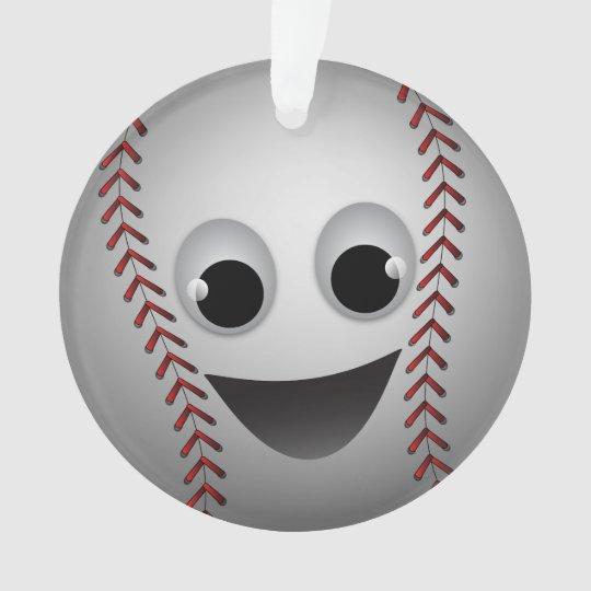 Sonrisa del carácter gráfico del béisbol