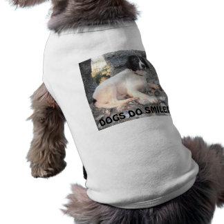 Sonrisa del castillo de Sprollie de la ropa del pe Camisetas Mascota