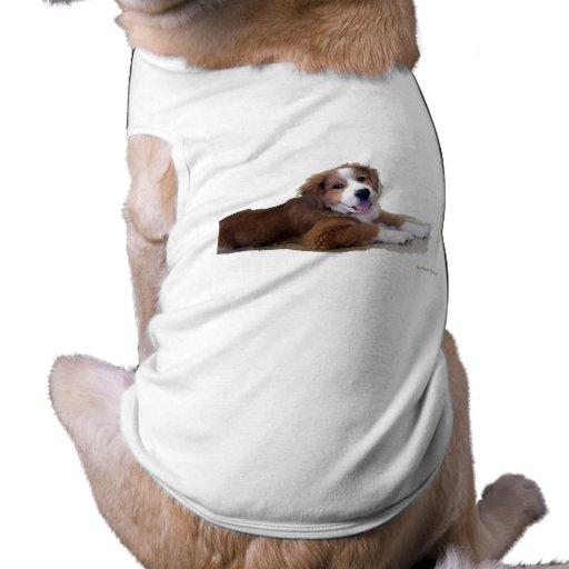 Sonrisa del compinche del rescate camisa de mascota
