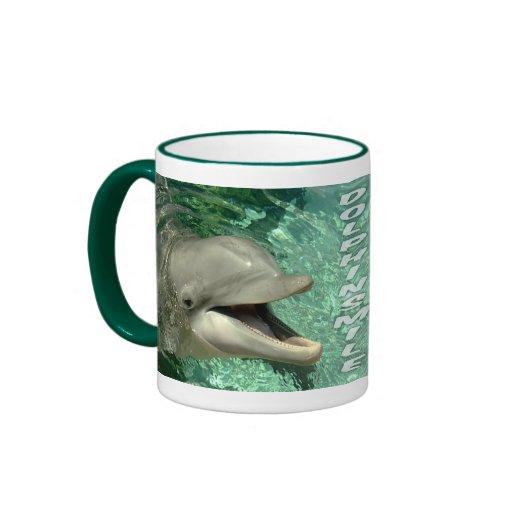 Sonrisa del delfín - taza