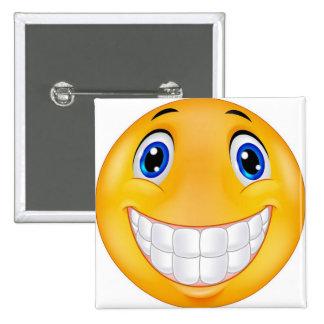 sonrisa del diente pin cuadrado