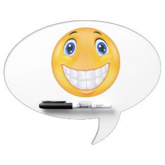 Sonrisa del diente pizarras blancas de calidad