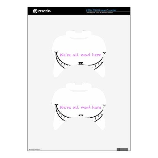Sonrisa del gato de Cheshire Mando Xbox 360 Skins
