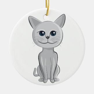 sonrisa del gato ornamento para reyes magos