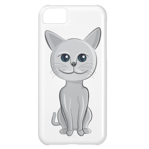 sonrisa del gato funda para iPhone 5C