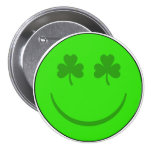 Sonrisa del irlandés pin
