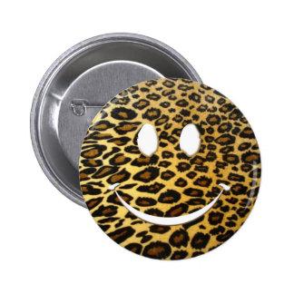 Sonrisa del leopardo pin